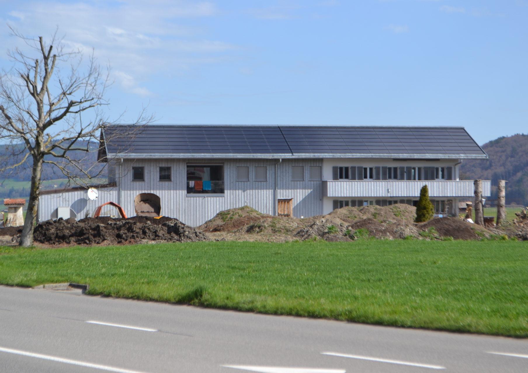 Neubau Dreifamilienhaus Ziegelhütte