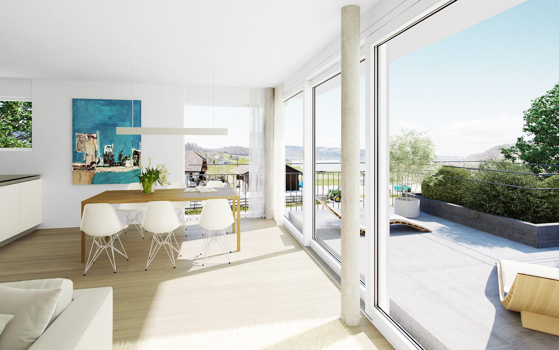 Neubau Wohnüberbauung Buechwald